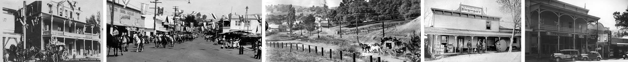 Historic Sutter Creek California