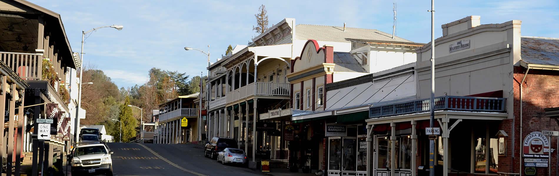 city of sutter creek main street