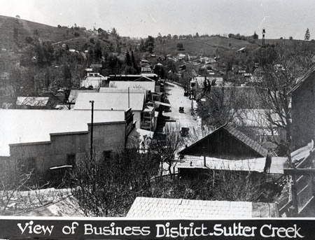 Historic Sutter Creek California