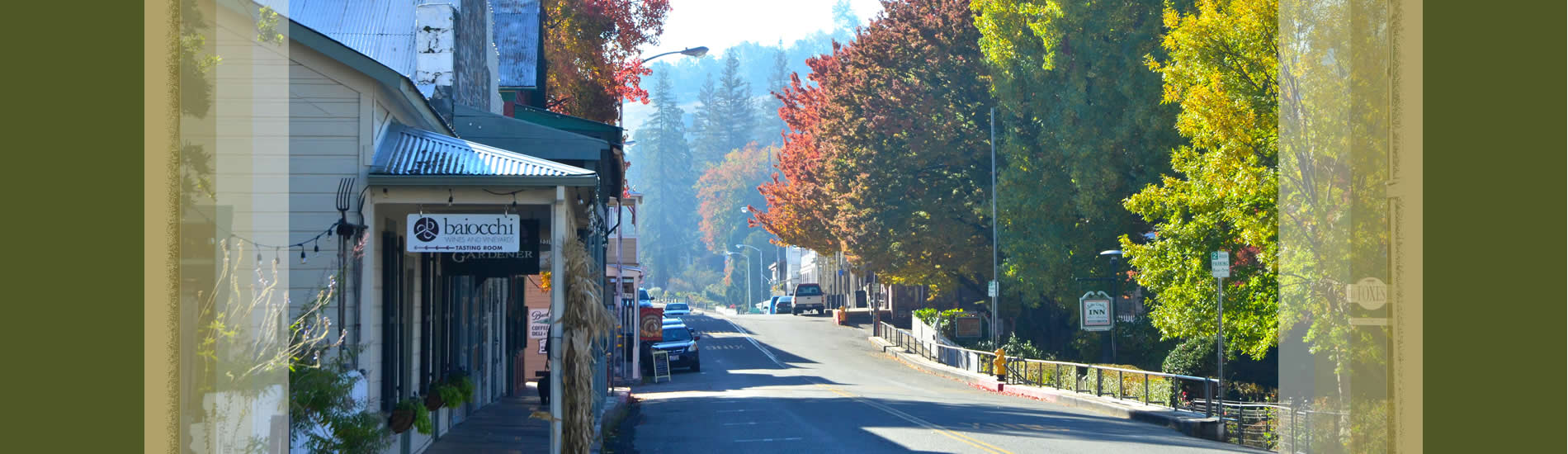 sutter creek main street - old highway 49